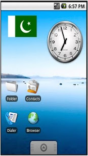 Pakistan Flag Sticker Widget - screenshot thumbnail