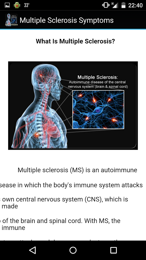 multiple sclerosis informative outline Multiple sclerosis and the self multiple sclerosis is a devastating disease that attacks the mylination on the axons of a lecture outline on multiple sclerosis.