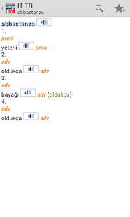 Italian<>Turkish Gem Dictionar - screenshot thumbnail