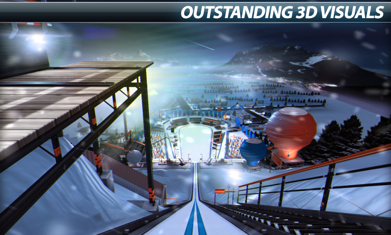 Super Ski Jump - Winter Rush - screenshot