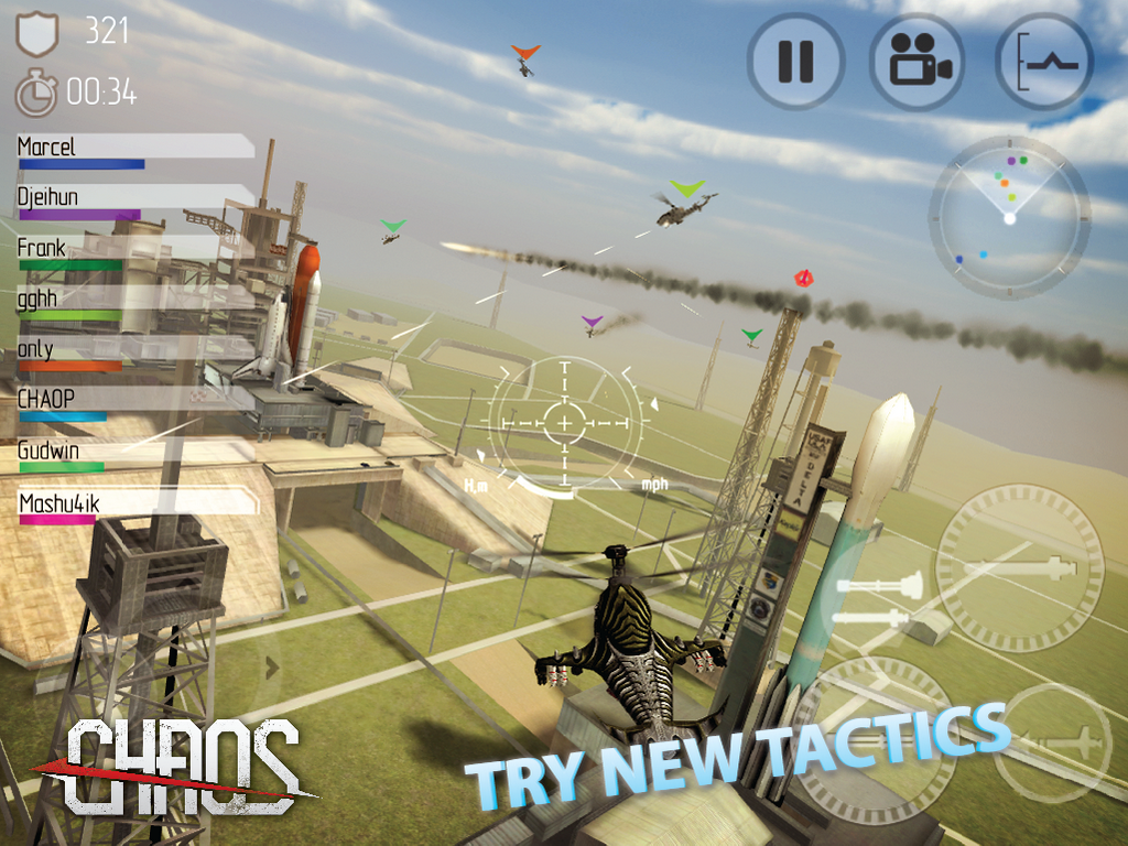 CHAOS Combat Copters HD #1 - screenshot