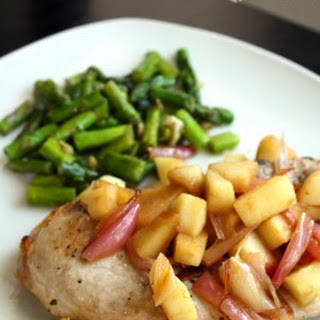 Sage-Rubbed Pork Chops with Apples & Shallots