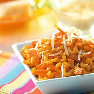 Macaroni Met Paprika En Room