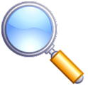 Magnifying Glass logo