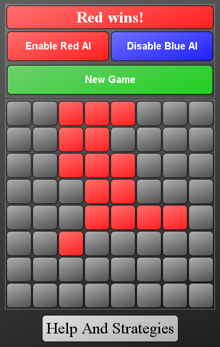 Chain Reversi - screenshot