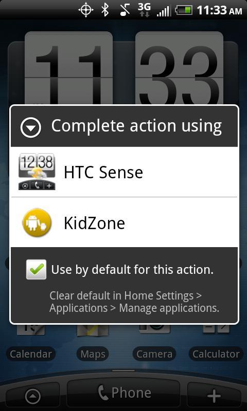 KidZone Secure Home Launcher - screenshot