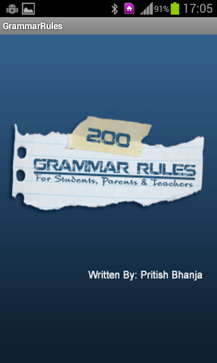 200 GRAMMAR RULES