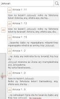 Screenshot of Baiboly & Fihirana Protestanta