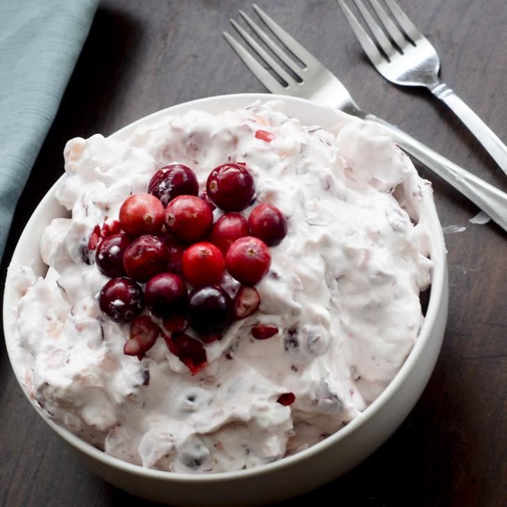 Cranberry Fluff Salad Recipe