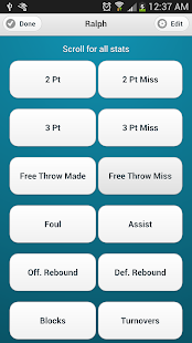 Basketball Stats Keeper - screenshot thumbnail