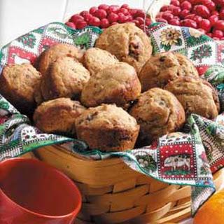 Cran-Orange Bran Muffins