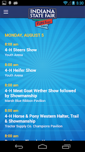 Indiana State Fair - 2013 - screenshot thumbnail
