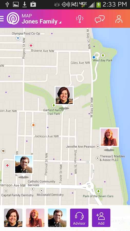 Life360 - Family Locator +more - screenshot