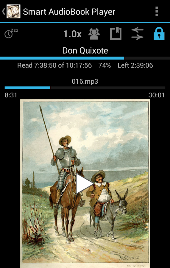 Smart AudioBook Player - screenshot
