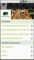 Screenshot of Kölner Zoo