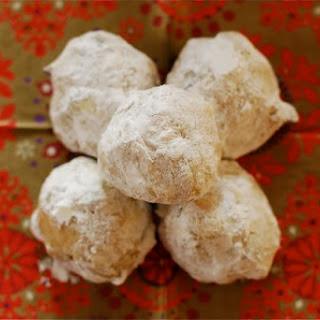 Buttery Pecan Snowballs