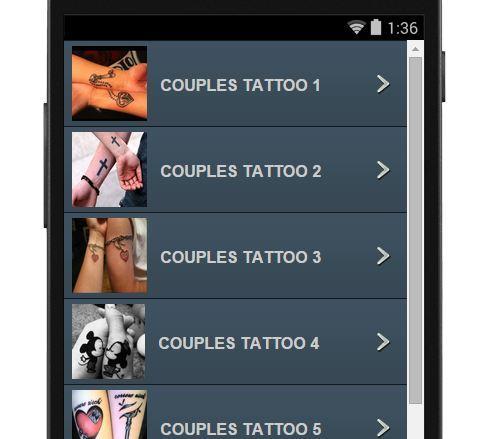 【免費生活App】情侶紋身圖案-APP點子