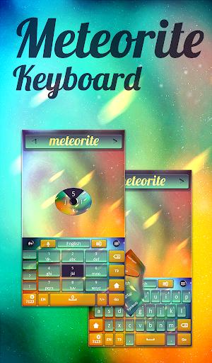 隕石キーボードのテーマ