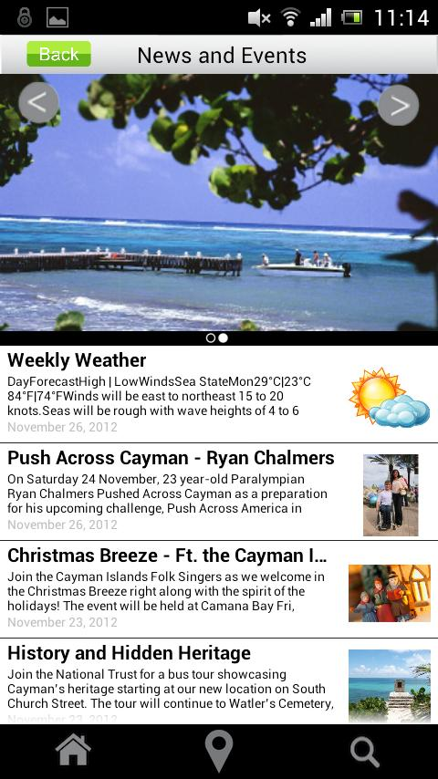 Cayman Visitor- screenshot