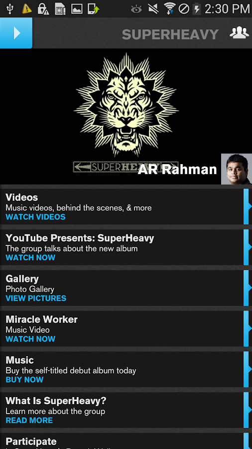 A R Rahman Official- screenshot