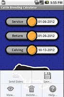 Screenshot of Cattle Breeding Calculator