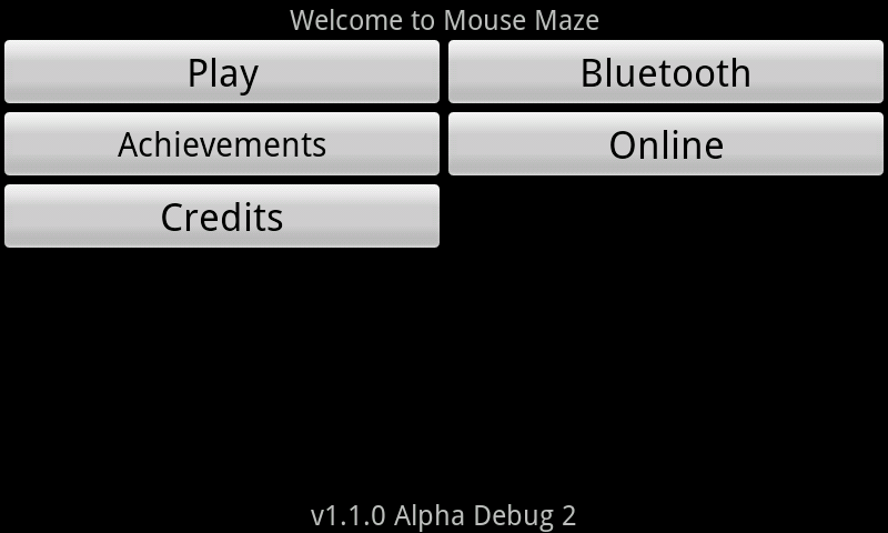 Mouse Maze- screenshot