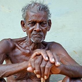 Worried by Kaushik Dolui - People Portraits of Men