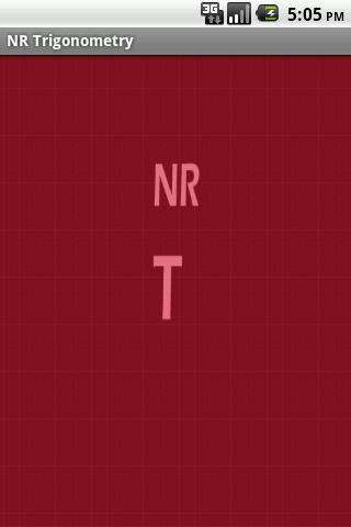 NR Trigonometry
