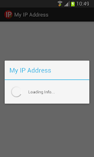 My IP Address- screenshot thumbnail