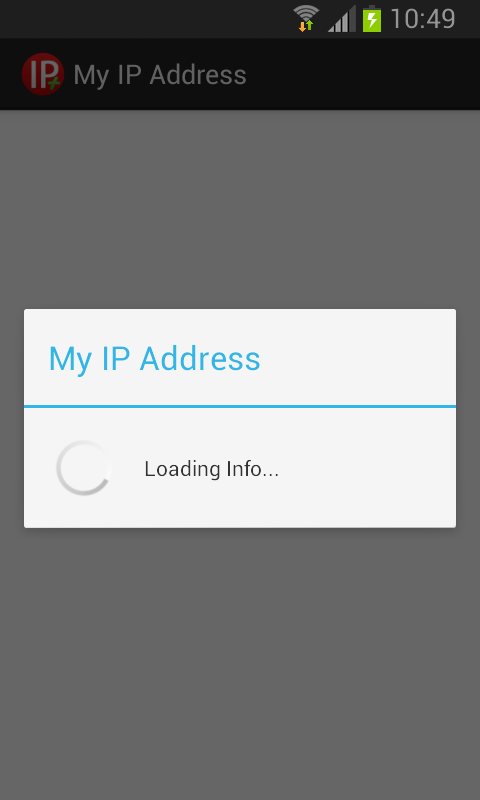 My IP Address- screenshot