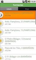 Screenshot of FarmaNav