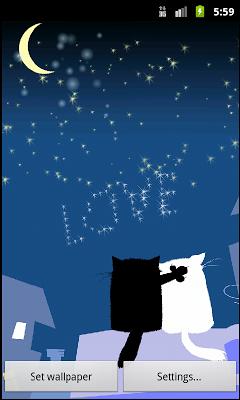 Cat Valentine Live Wallpaper - screenshot