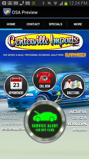 Centerville Imports