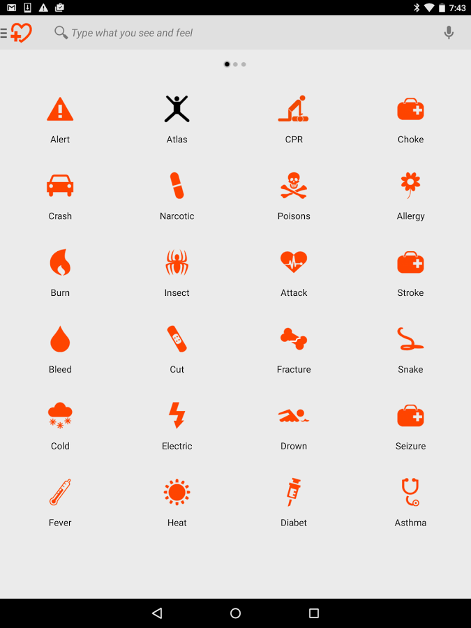 First Aid Home WiFi - screenshot