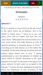 Easy KJV Bible- screenshot thumbnail