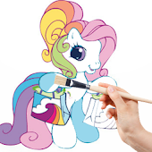 MLP little ponys Coloring