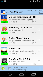 App Manager-copy/backup/send - screenshot thumbnail