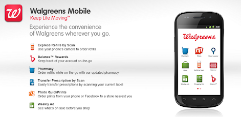 Walgreens - Android Mobile Analytics and App Store Data