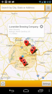 BreweryMap #1 Brewery Map App - screenshot thumbnail