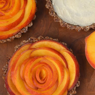 Peach Tarts with Ginger and Coconut