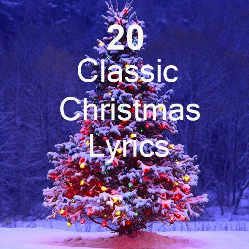 20 Classic Christmas Lyrics LOGO-APP點子