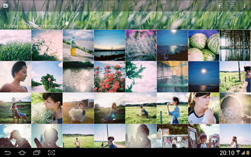 Picasa tool - Colorful Life screenshot