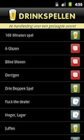 Screenshot of Drink Spellen App
