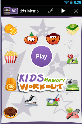 kids memory workout