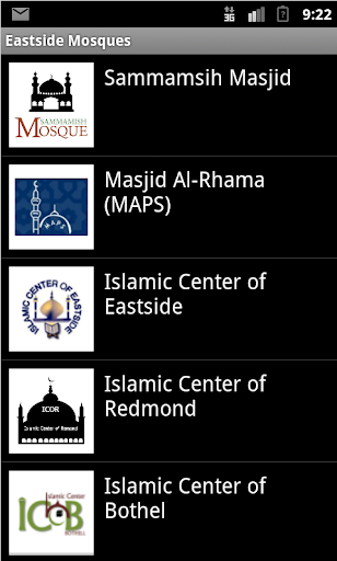 Eastside Mosques