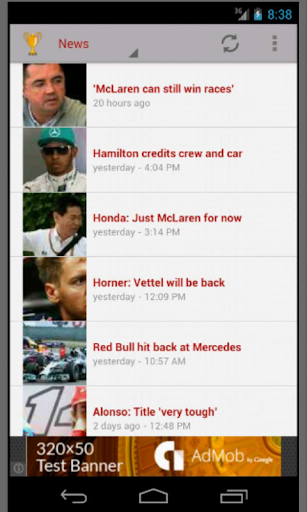 Racing News and Wallpapers
