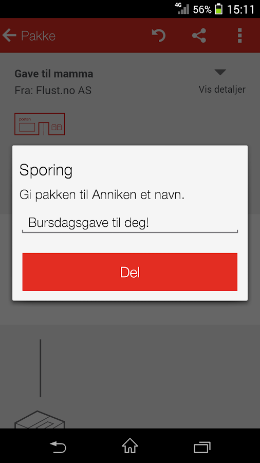 Posten Sporing - screenshot