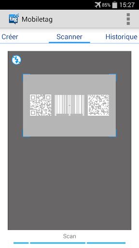 Mobiletag QR code Flashcode