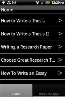 arcada thesis