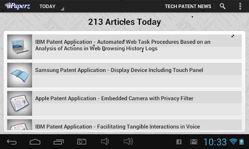 iPaperz Tech Patent News